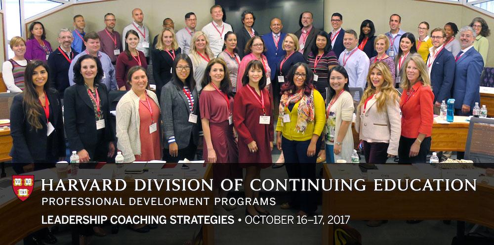 Participants in Harvard Life Coaching Program